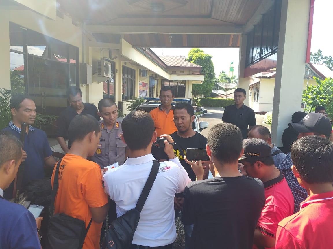Polres Agam Dan BKSDA Amankan Pelaku Kepemilikan Satwa Dilindungi Dalam Cagar Alam Maninjau