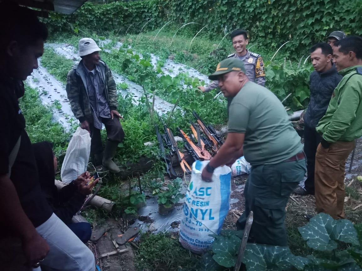 Patroli Gabungan Peredaran TSL di RKW VII Tanah Datar